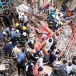 मुम्बईमा भवन भत्किँदा १२ जनाको मृत्यु