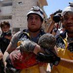 सिरियामा हवाई आक्रमणमा २६ बालबालिकासहित एक सयभन्दा बढीको मृत्यु