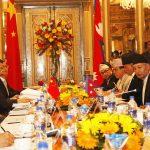 नेपाल र चीनबीच तीन सम्झौता पत्रमा हस्ताक्षर