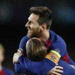 स्पेनिस ला लिगा: बार्सिलोना शीर्ष स्थानमा,मेसीले पहिलो हाफमै पूरा गरे ह्याट्रिक
