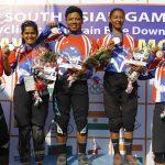 नेपाल पदक तालिकाको शीर्ष स्थानमा, भारत पछिपछि, कुन देशको पदक कति ?