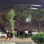 कोराना संक्रमित राखिएको होटल भत्कियो, ७० जना पुरिए, ३८ को जिवितै उद्धार