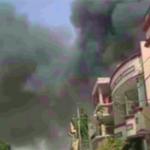 पाकिस्तानको कराँचीमा विमान दुर्घटना