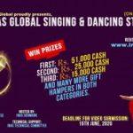 इनासद्धारा अनलाइनबाटै विश्वब्यापी गायन र नृत्य प्रतियोगिता आयोजक