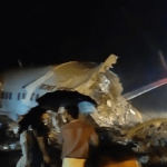भारी वर्षाका कारण भारतको केरलामा विमान दुर्घटना,१७ को मृत्यु,१२३ घाइते