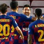 नापोलीलाई हराउँदै बार्सिलोना च्याम्पियन्स लिगको क्वाटरफाइनलमा