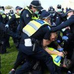 अस्ट्रेलियामा लकडाउनविरुद्ध 'स्वतन्त्रता'को नारासहित आन्दोलन, दर्जनौं प्रदर्शनकारी पक्राउ